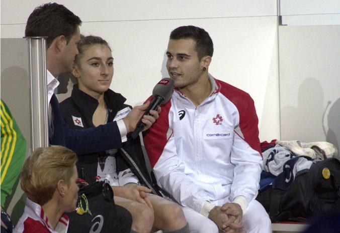Team Schweiz 1: KÄSLIN Ilaria BRÄGGER Pablo