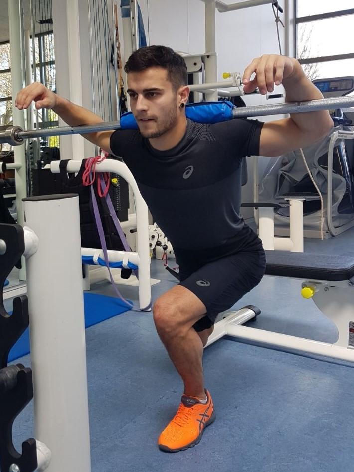 Training Pablo Braegger